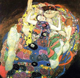 Klimt- The Virgin (1913) Elmas Mozaik Tablo 61x61cm